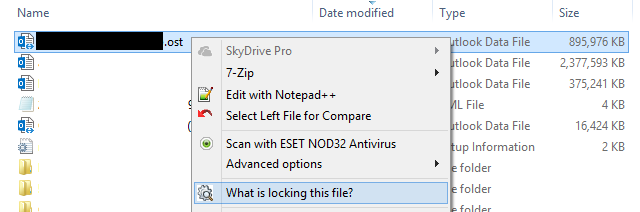 What is locking my file?